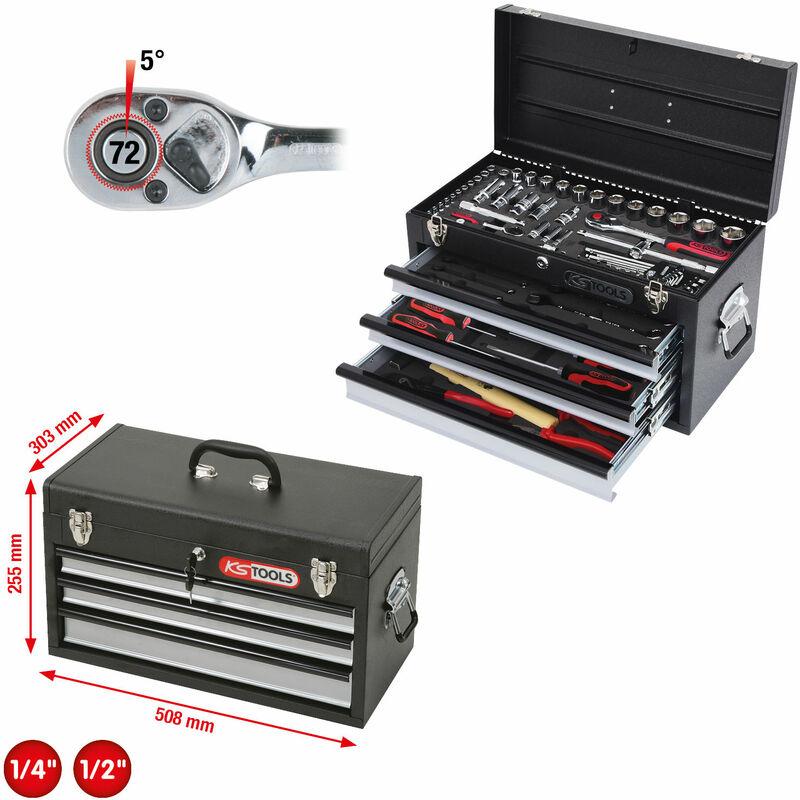 tama/ño: 230 mm KS Tools 500.1036 Alicate para anillos de seguridad interiores 230mm