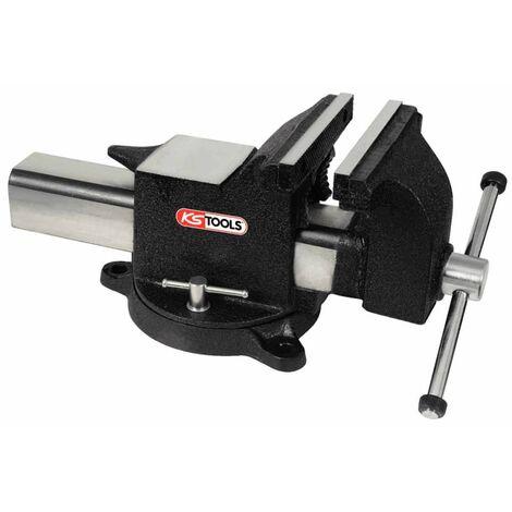 KS Tools Bench Workbench Vice Tool Garage Workshop Black Steel Multi Sizes