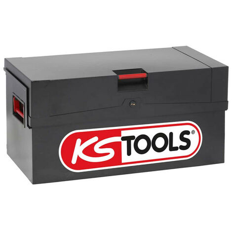 KS TOOLS Chest - Reinforced - Black - 999.0550