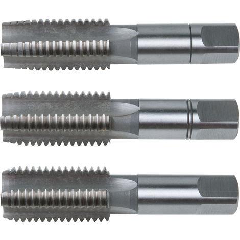 KS Tools HSS CO Handgewindebohrer-Satz M 3-tlg. M2,5x0,45