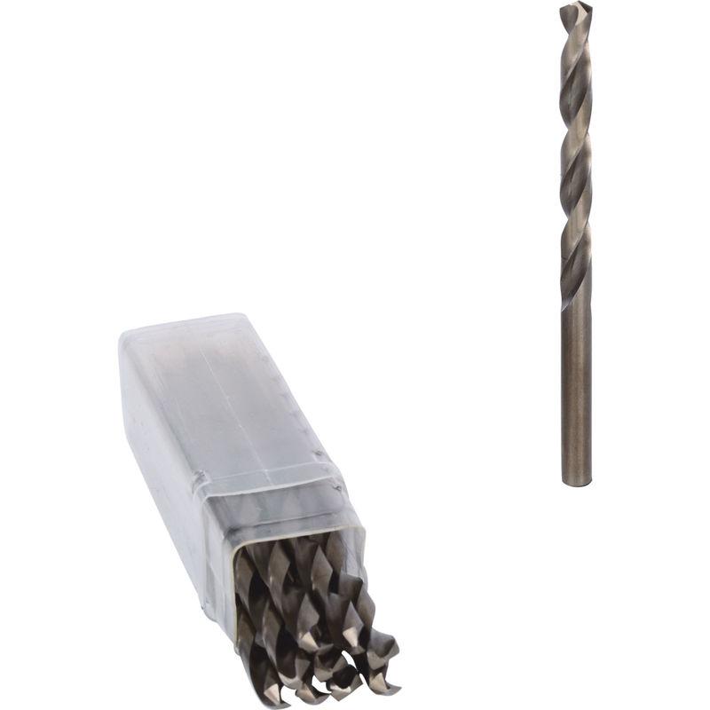 10er Pack KS Tools HSS-G Co 5 Spiralbohrer 6mm