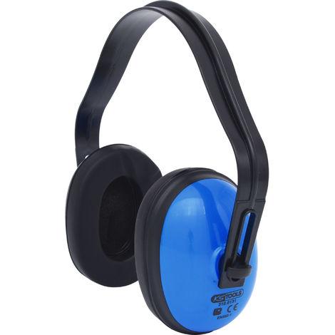 KS TOOLS Kapselgehörschutz mit Kopfbügel, blau