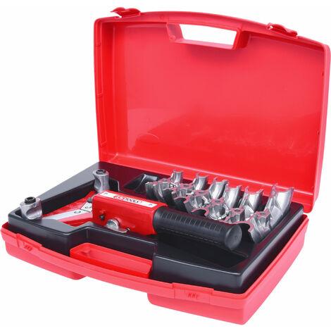 KS TOOLS Kit de cintrage à cliquet à une main 10-22mm, 7 pcs.