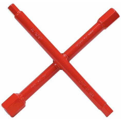 KS Tools Llave en cruz para sanitarios 7 funciones 116.6000