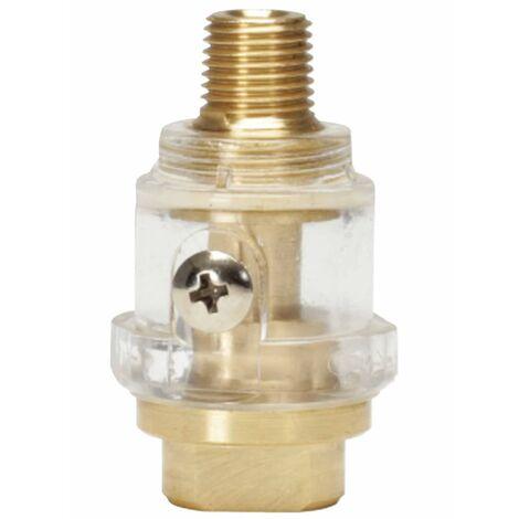 """KS Tools Lubricador herramienta neumática en línea 54 mm 1/4"""" 515.3360"""