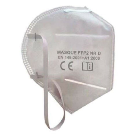 KS TOOLS Máscara de protección contra partículas - FFP2 NR D - 1 pcs - 310.0182