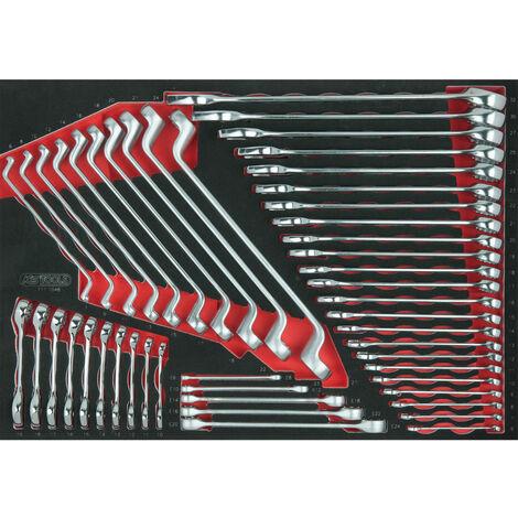 KS TOOLS Module de clés SCS, 48 pièces, module 1/1