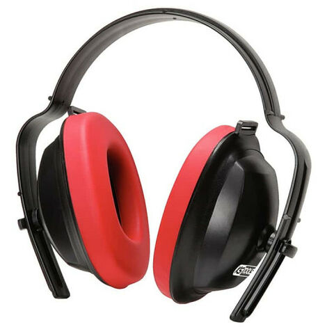 KS TOOLS Noise cancelling headphones - Red - 19 dB - 310.0130