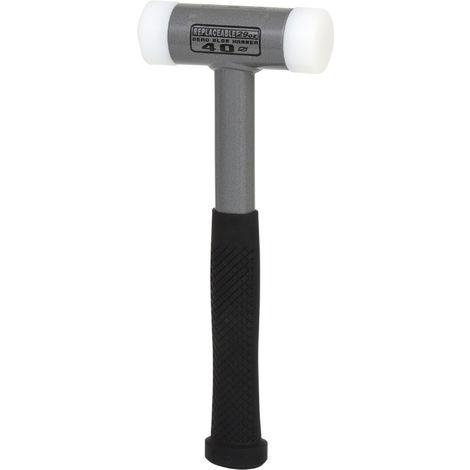 KS Tools 140.5274 R/ückschlagfreier Schonhammer 990g