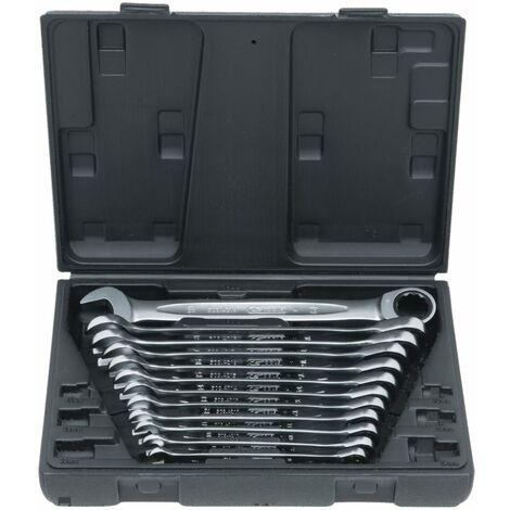 KS Tools Set de clés mixtes ? cliquet GEARplus®. 12 pi?ces