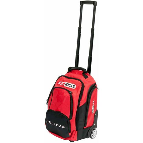 KS Tools Tool Trolley with Telescopic Handle 18 L 33x27x46 cm 850.0334