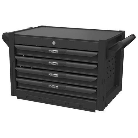 KS TOOLS Ultimate Chest - Black - 4 drawers - 816.0004