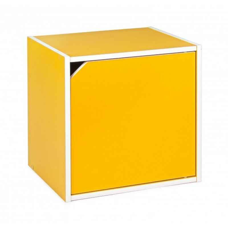 Kubus mit Tür COMPOSITE Gelb - Fashion Commerce