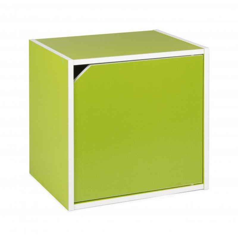 Kubus mit Tür COMPOSITE Grün - Fashion Commerce