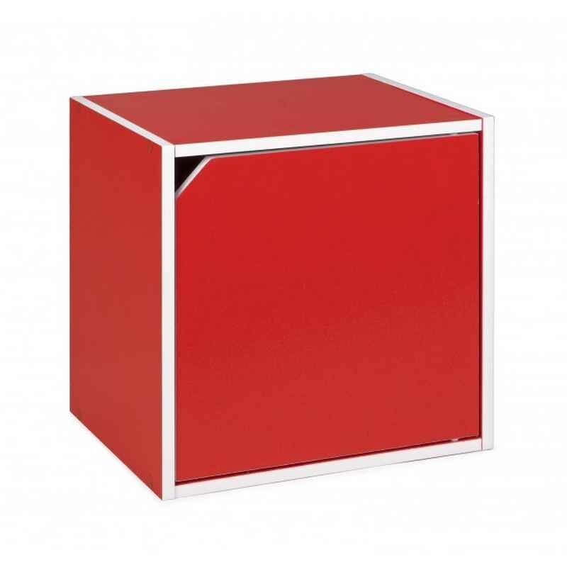Kubus mit Tür COMPOSITE Rot - Fashion Commerce