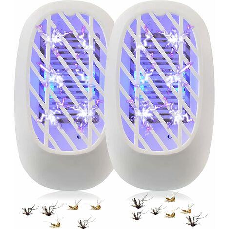 kueatily 1 PCS Moustique Tueur Lampe,Lampe Anti-Moustique - Lampe UV, Tueur d'Insectes Electrique, Destructeur de Mouches, Anti-Moustique Intérieur, Piège à Mouches Efficace