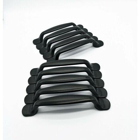 kueatily 2x Cuisine Armoire Porte Poignées Placard Tiroir Chambre Meubles Tirer Entraxe 128MM, Aluminium