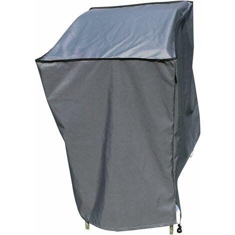 kueatily Housse de Protection Hydrofuge pour Barbecue | Gris | 98 x 68 x 88 cm