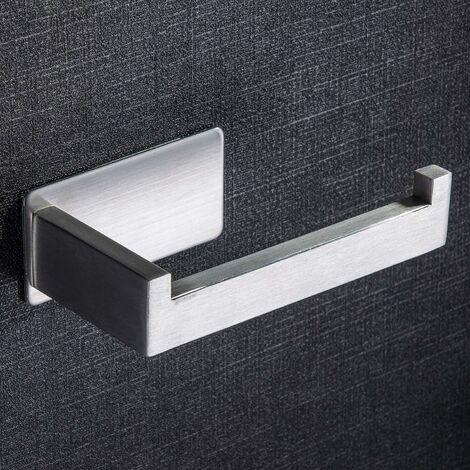 kueatily Porte Papier Toilettes Auto-Adhesif Support Papier Toilettes Acier Inox Porte rouleau toilette pour Salle de Bain