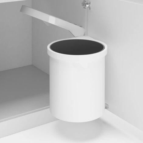 Küchen-Einbau-Mülleimer Kunststoff 12 L