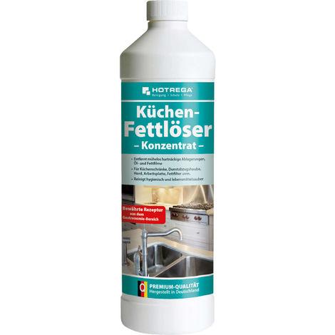 Küchen Fettlöser Konzentrat 1L - Küchenreiniger gegen Öl- / Fett Flecken HOTREGA - 4537