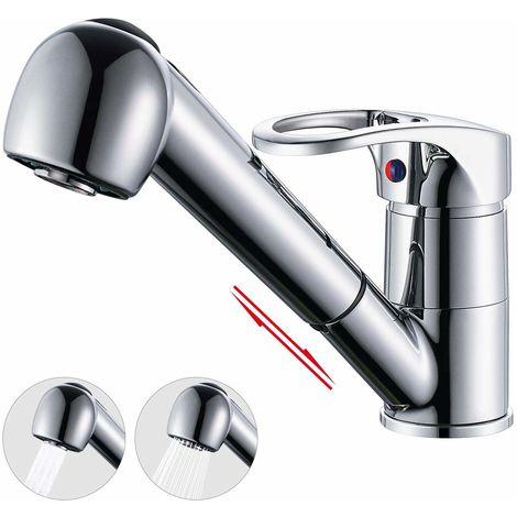 Küchenarmatur ausziehbar Brause 360° Drehbar ...