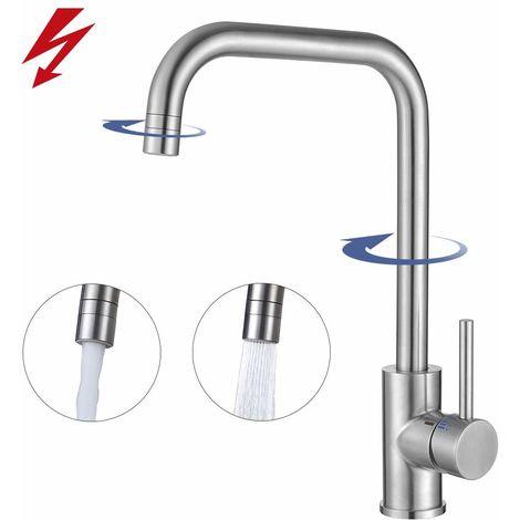 Küchenarmatur Niederdruck Armatur Küche Wasserhahn Spültischarmatur ...