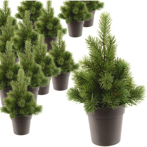 Künstlicher Weihnachtsbaum Wie Echt.Künstlicher Weihnachtsbaum 27cm Tannenbaum Christbaum Tisch Weihnachten Täuschend Echt Aussehend