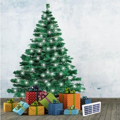 Künstlicher Weihnachtsbaum Mit Beleuchtung.Künstlicher Weihnachtsbaum Cortina 180 Cm Mit Solar Led Beleuchtung