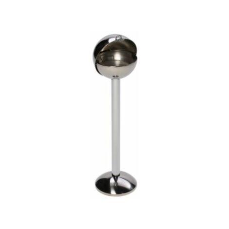 Kugel-Standascher aus Edelstahl - zur Sandbefüllung - Höhe 970 mm, Ø 260 mm