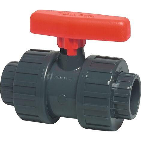 Kugelhahn Safe 600 PVC-U Nenn-Gr.mm 32 MEGA