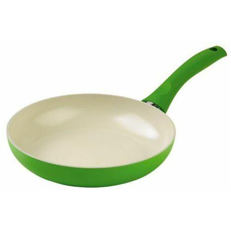 Kuhn Rikon Colori Cucina Poêle à frire en céramique pour induction Vert 24 cm