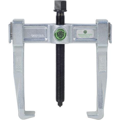 KUKKO 120-1 - Extractor de rodamientos universal de 2 patas Vario (100 x 100 mm)