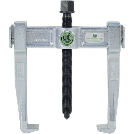 KUKKO 120-10 - Extractor de rodamientos universal de 2 patas Vario (150 x 100 mm)