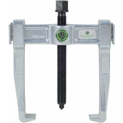 KUKKO 120-2 - Extractor de rodamientos universal de 2 patas Vario (150 x 150 mm)