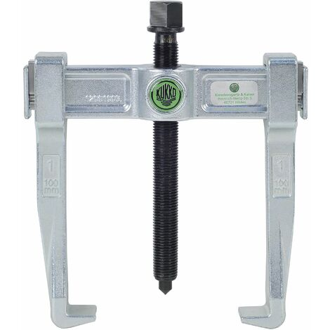 KUKKO 120-20 - Extractor de rodamientos universal de 2 patas Vario (250 x 150 mm)