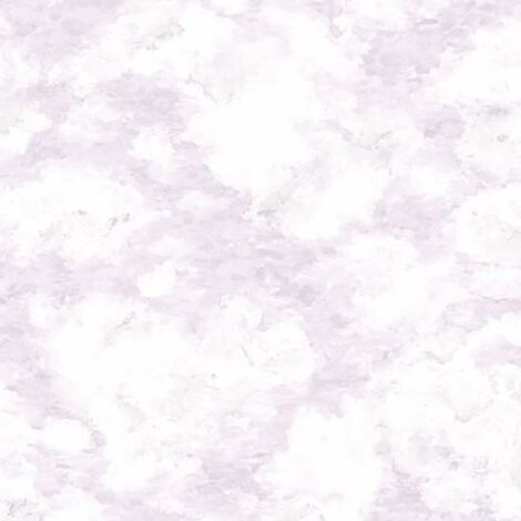 Kumo Clouds Wallpaper Holden Decor Paste The Wall Heather Lilac Watercolour