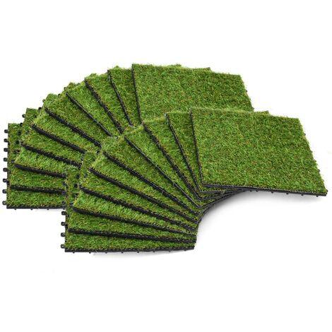 vidaXL Kunstrasen Fertigrasen Outdoor Garten Rasenteppich 7-9 mm mehrere Auswahl