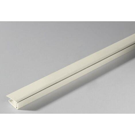 Kunststoff Abschlussprofil Cotton klippbar 2600 mm
