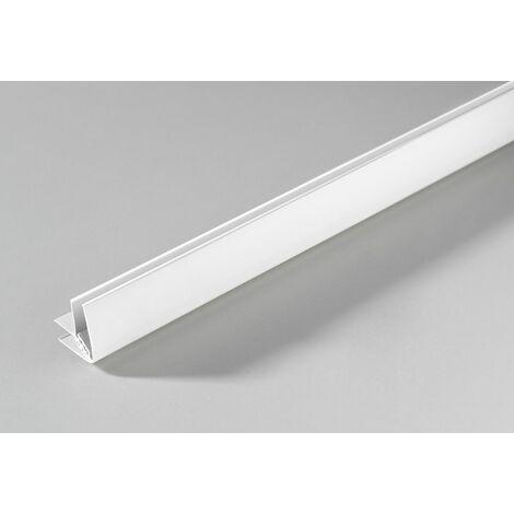 Kunststoff Aussen-/Innenwinkel weiß, 2600 mm