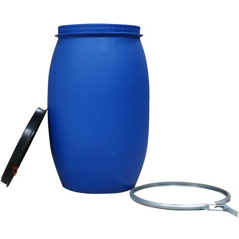 Kunststoff-Deckelfass, 120 Liter - UN-Zulassung