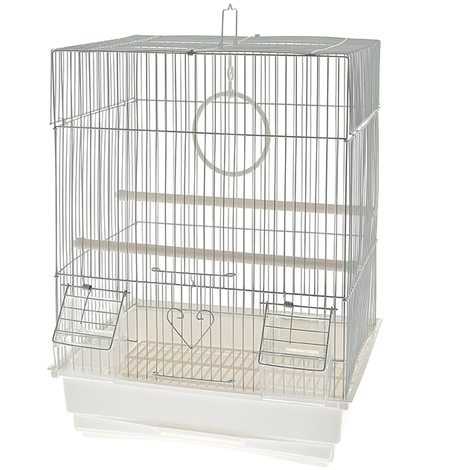 Kunststoff-Kanarienvogelkäfig Modell Novara Ferribiella