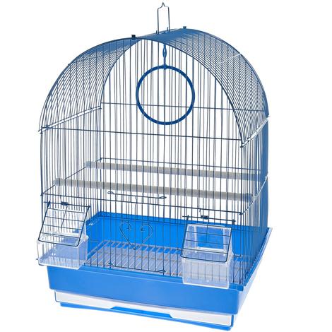 Kunststoff-Kanarienvogelkäfig Modell Torino Ferribiella