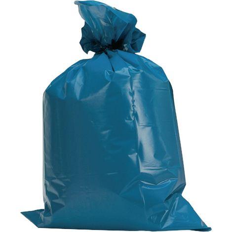 Kunststoffsack 120l LD-PE blau 60 µm B700xL1100mm 250St./Karton
