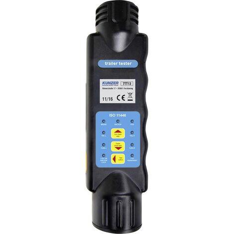 Kunzer Handprüfgerät zum Testen von 13-poligen Steckern und Steckdosen 12V 7TT13 S215981