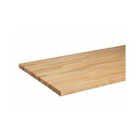 Kupper - Panel de madera maciza para banco de trabajo 120x60cm
