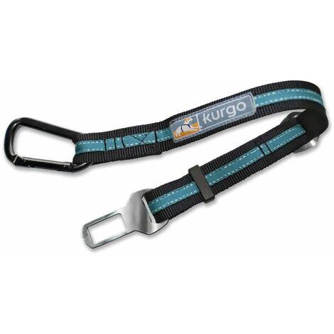 Kurgo Cintura di Sicurezza per Cani Blu e Nera