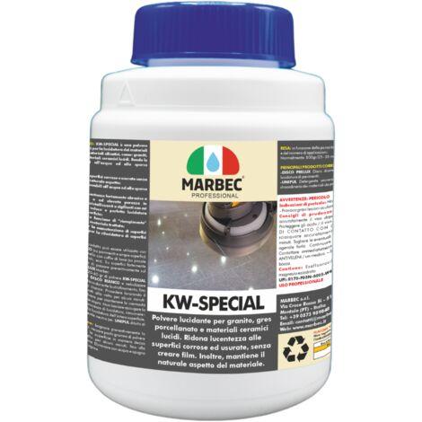 KW SPECIAL   Lucidante in polvere per graniti, gres porcellanato e materiali ceramici