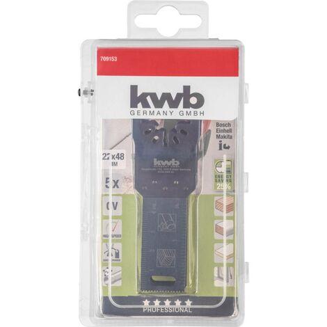 kwb 709153 Jeu de lames plongeantes 5 pièces 22 mm 1 set