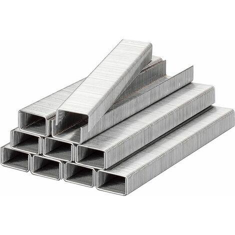 KWB Agrafes, 10,7 mm x 10 mm, fil acier plat - 357110